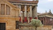 Vue de Rome à l'époque de Silvius Silva